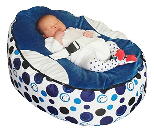 Mama Baba - Puff mecedora para bebé con relleno