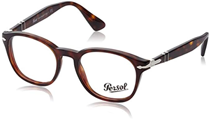 3338dc218d1d1 Amazon.com  Persol Men s PO3122V Eyeglasses Stripped Grey 48mm  Clothing