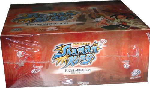 Shaman King Shonen Jump Reincarnation Booster Packs Box (10 Cards Per Pack/24 Packs Per Box)