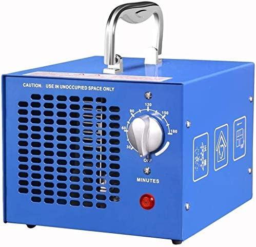 LCSD Purificador de Aire 3500 MG/H Generador Comercial De Ozono Olor Asesino, Ozono Purificador De Aire Ozonizador Dispositivo Ozono con Temporizador For Habitaciones, Humo, Automóviles Y Mascotas,