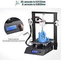 FLOUREON J1 Impresora 3D DIY de Aluminio con Estructura de Metal ...