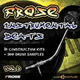 Software : Frose Instrumental Beats Vol.3 - Fresh Instrumental Hip Hop SamplesApple Loops/ AIFF DVD non BOX