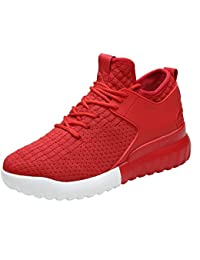 Women's Casual Sneaker Ultralight Breathable Mesh Comfort Running Sports Wallking Shoes Size 5.5-9B
