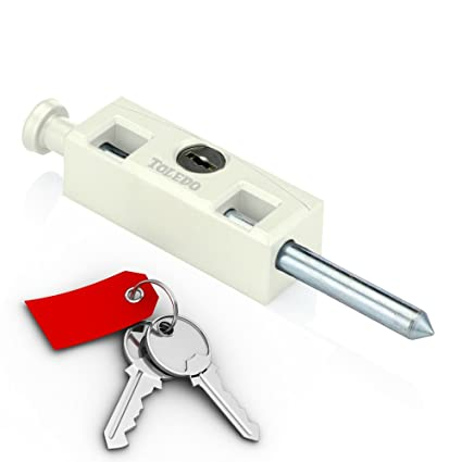toledo window sliding patio door bolt lock tdp 02w keyed alike