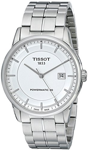 Tissot Men's TIST0864071103100 Luxury Analog Display Swiss Automatic Silver Watch
