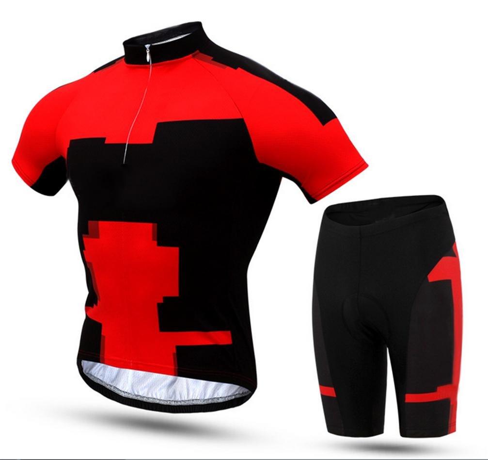 Jersey HL Sommer-Set Kurze Hülse M Profi-Radsport Trikot Saugfähig, Atmungsaktiv