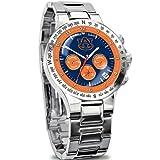 Auburn Tigers Collector's Men's Chronograph Watch