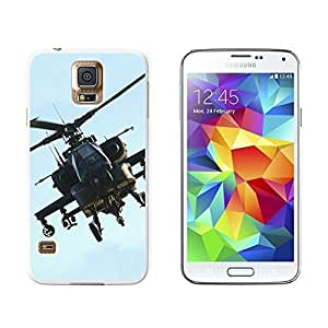New Style Apache Helicopter - Snap On Hard Protective Case for Samsung Galaxy S5 - White