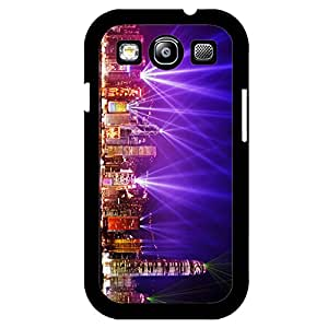 Samsung Galaxy S3 mini Hard Plastic Back Cover,Cool Perfect Night scene Mobile Phone Case for Student with Night View Printing