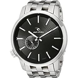 Rip Curl Men's A2227-BLK Detroit Stainless Steel and Black Watch