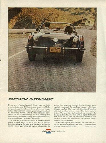 (Precision Instrument . . .Corvette ad 1959 NY)