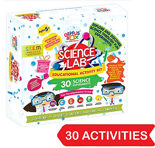 Genius Box – Play Some Learning Educational Toy for 5+ Year Age: Science Lab DIY, Activity Kit, Learning Kit…