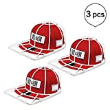 Hat Washer Baseball Hat Cleaner/Cleaning Protector Ball Cap Washing Frame Cage (3pcs)