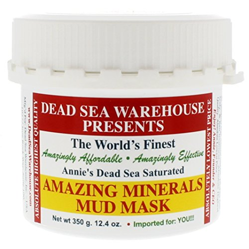 Dead Sea Mask - Dead Sea Warehouse - Amazing Minerals Mud Mask. All Natural Professional Spa Formulation, 12.4 Ounces