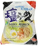 Sanyo Sapporo Ichiban Instant Noodle Shio, 3.6-Ounce (Pack of 24)