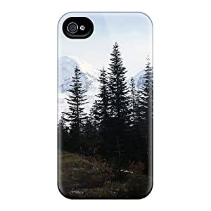 Quality RdPrice Case Cover With Mount Baker Washington Nice Appearance Compatible With Iphone 4/4s