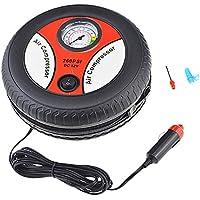 Semoic Tire Inflator Car Air Pump Compressor Electric Portable Auto 12V Volt 260 Psi