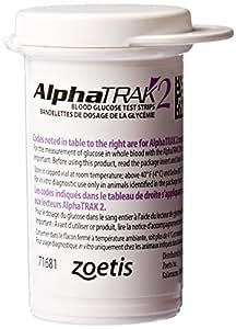 AlphaTRAK 2 Blood Glucose Test Strips, 50 Count