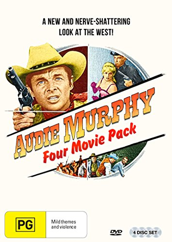 Audie Murphy 4 Film Westerns Collection (The Wild and The Innocent/Six Black Horses/Gunpoint/The Guns of Fort Petticoat)