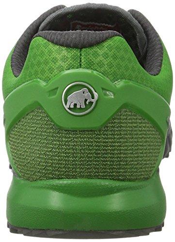 Mammut MTR 201-LL LOW trail Zapatillas Deportivas para Running Hombres Multicolor (Graphite-sherwood)