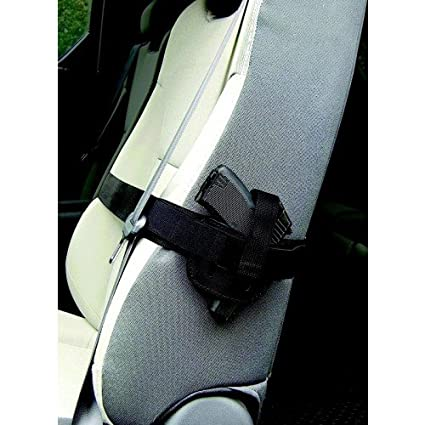 PS Products 036SH Concealed Carry Car Seat Holster Frame Black Small To Medium