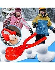 Snowball Maker Toys Cartoon Duck Snowball Maker Clip Outdoor Sports Snow Sand Mold for Kids, Children Snow Ball Fights, Winter Outdoor Activities