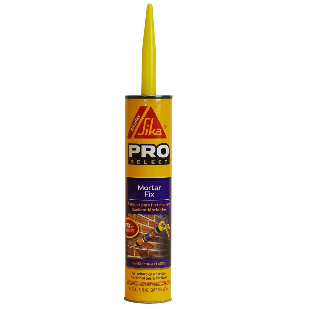 Sika Pro Select 187784 10oz Non-Shrink Mortar Fix, Gray-Case of 12 by SIKA