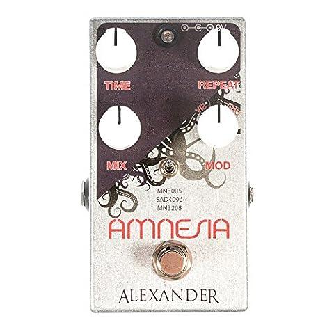 Alexander Pedals Amnesia Delay (Alexander Delay)