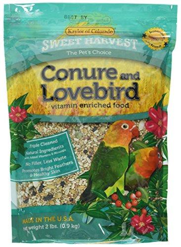 Sweet Harvest Vitamin Enriched Conure & Lovebird Food 2 LB