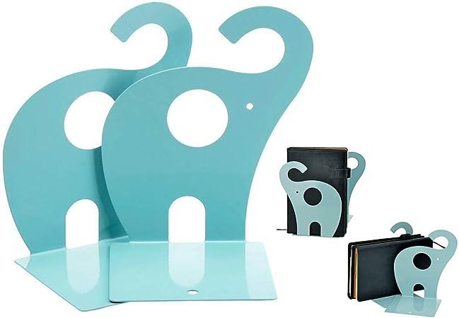 Grazioso fermalibri in metallo antiscivolo a forma di giraffa ideale come regalo per la casa e l/'ufficio Green