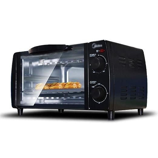 Pojrhfy Cocina Mini Horno - Horno eléctrico Control de Temperatura ...