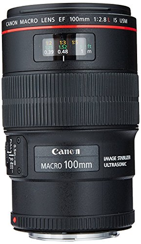 - Canon EF 100mm f/2.8L IS USM Macro Lens for Canon Digital SLR Cameras