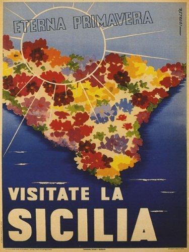 Amazoncom Visit Sicily Sicilia Largest Island In The Mediterranean