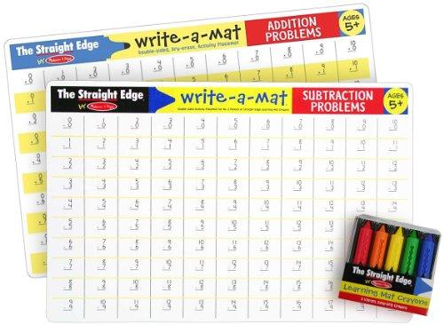 Math Problems Write Crayon Bundle