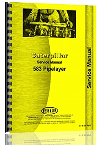 caterpillar pipelayer 583 service manual caterpillar manuals rh amazon com