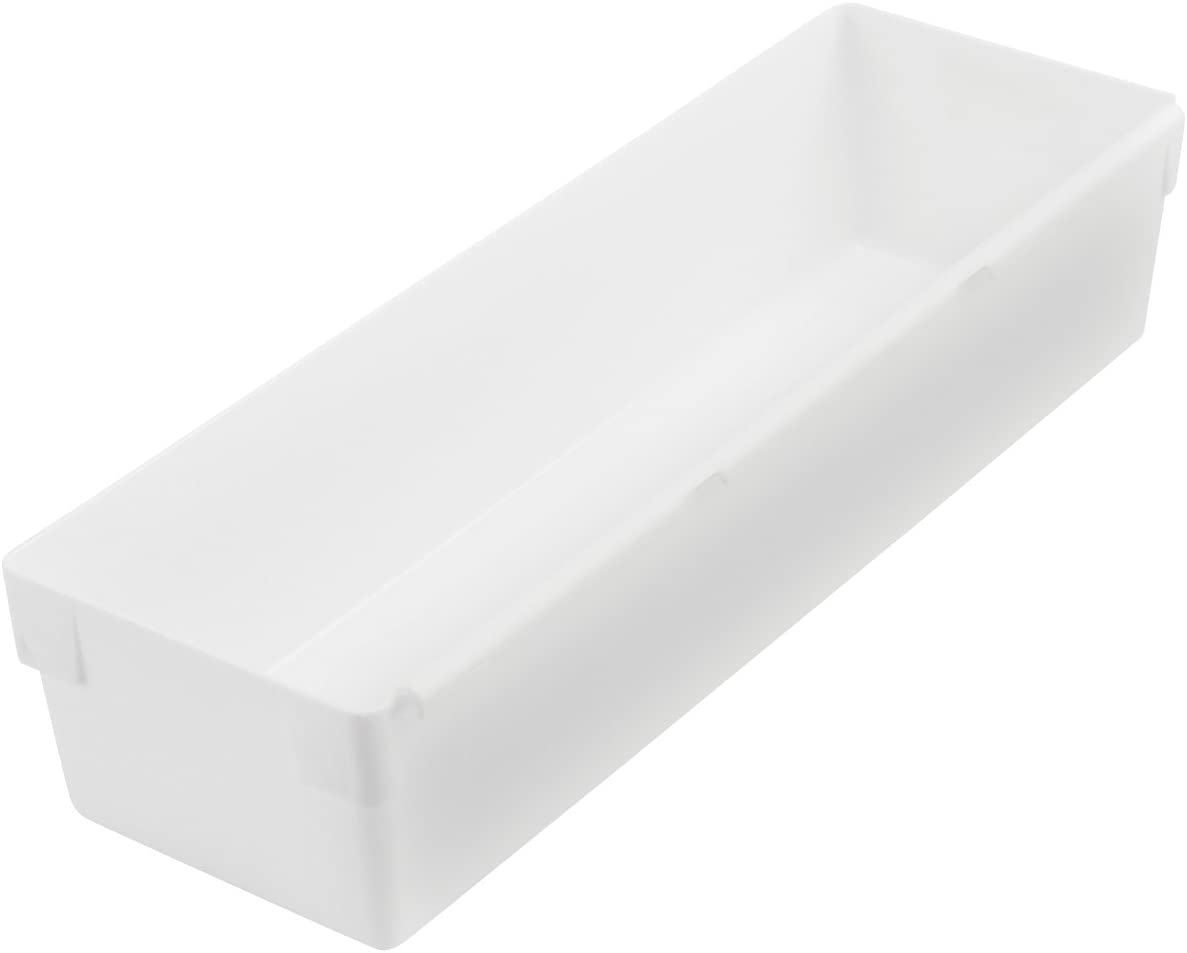 Rubbermaid Drawer Organizer, 9 by 3 by 2-Inch, White (FG2915RDWHT)
