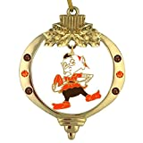Final Touch Gifts Cleveland Browns Brownie Christmas Ornament