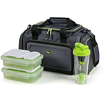 Amazon.com: Arctic Zone Portion Control Insulated Duffel
