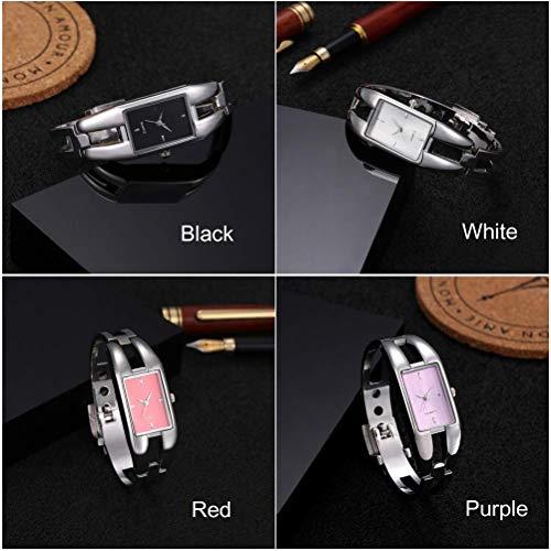(Luxury Brand Watch Bracelet Watches Hollow Sexy Slim Band Women Bangle Watches Fashion Beauty Designer Ladies Quartz Watch)