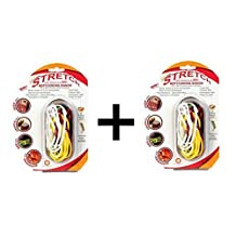 Architec Silicone Hot Cooking Bands Butchers Twine Grill BBQ Meat Ties, 2-Pack