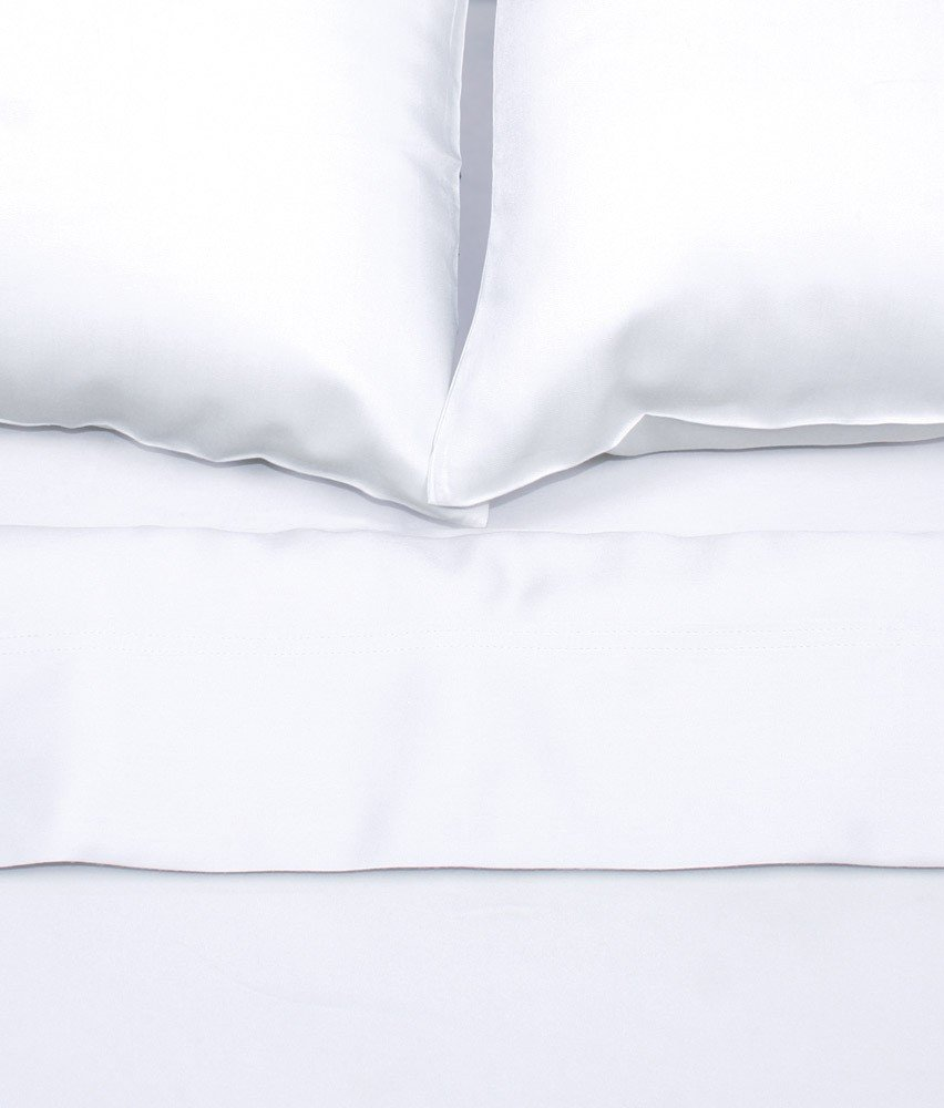 Bamboo Sheets by Aloha Soft - 4 Piece Bed Sheet Set - Includes Bed Sheets and Pillowcases - Lifetime Quality Guarantee (California King, White)