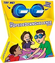 The UpsideDownChallenge Game for Kids & Family - Complete Fun Challenges with Upside Down Goggles - Hilari