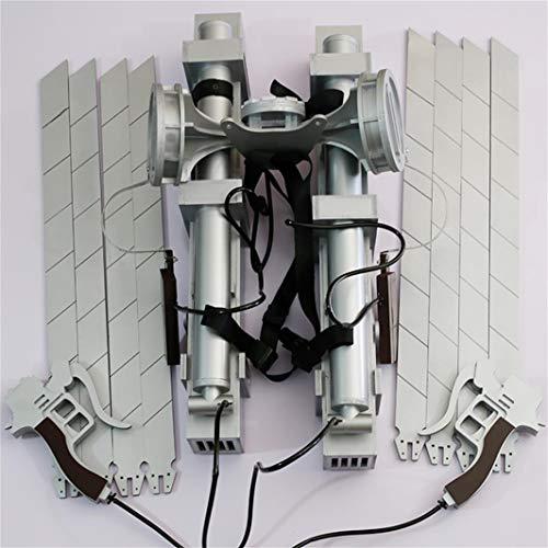 進撃の巨人 立体機動装置 高品質 Cosplay コスプレ道具(刃が置換することができる)
