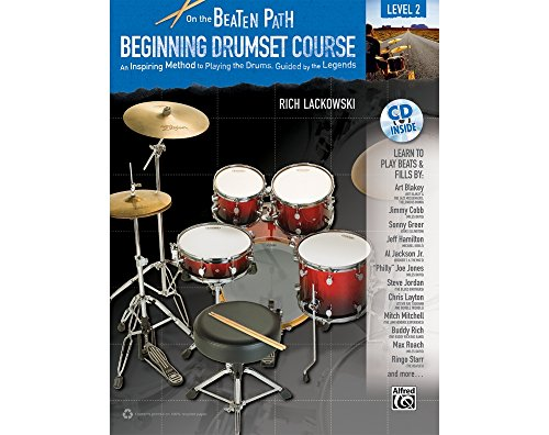 (Alfred On the Beaten Path Beginning Drumset Course Level 2 Book & CD)