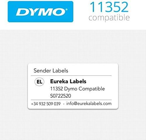 10 x Dymo 11352 - S0722520 compatibles con etiquetadoras ...