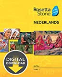 Rosetta Stone Dutch Level 1 [Download]