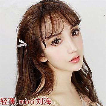 Amazon.com : air bangs wig women fake bangs
