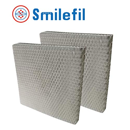 Smilefil 2-Pack Whole House Humidifier Pads Compatible with Honeywell HC2-2P(HC22P1001)