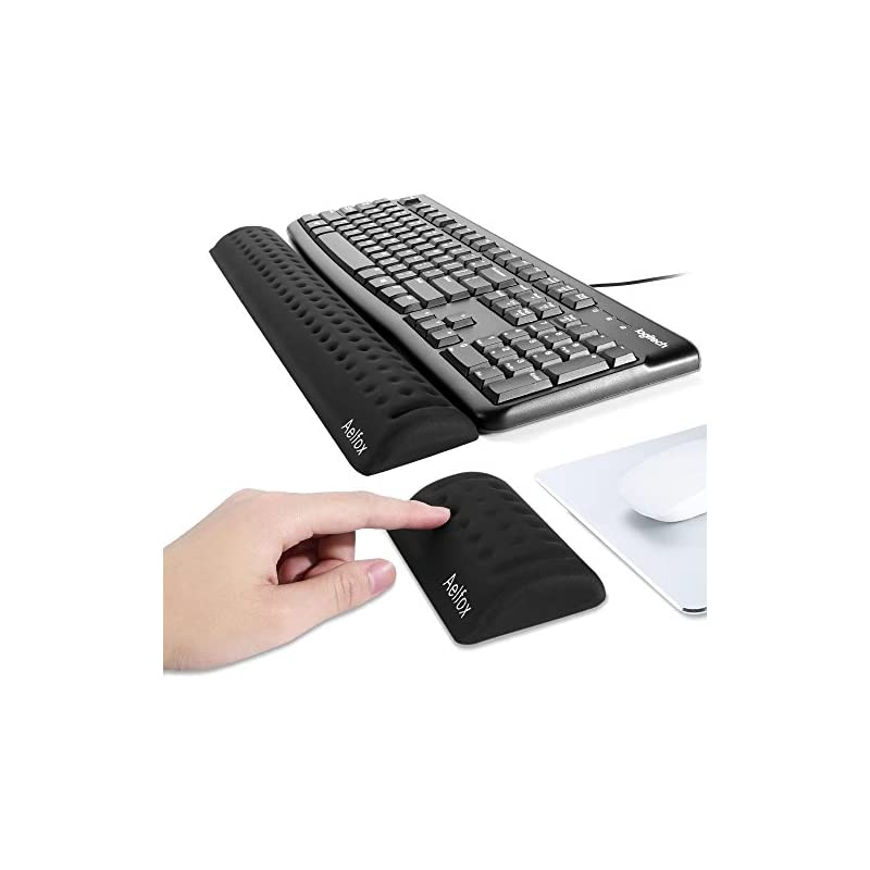 Aelfox Memory Foam Keyboard Wrist Rest&G