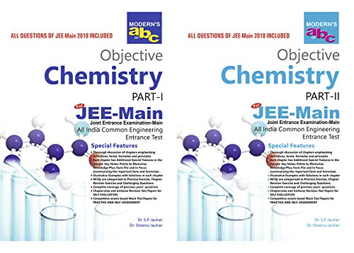 Modern's ABC of Objective Chemistry Part I & Part II(Jee